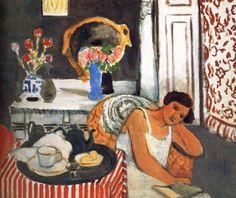 "Henri Matisse (1869-1954) "" Woman Reading."""