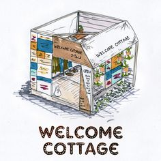 2-tacs × BEAMS 『WELCOME COTTAGE』