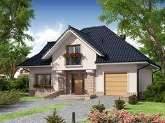 Bungalow House Design, Bungalow House Plans, Beautiful House Plans, Beautiful Homes, Burbank Homes, Carriage House Plans, Dream Home Design, New Home Designs, House Front