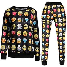 Roseate 3D Emoji Activewear Sweatpants and Shirt Joggers
