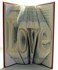 Unique Book Art