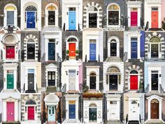 England - Portuguese photographer André Vicente Gonçalves, Captures Charming Diversity of Colorful Front Doors from Around the World - My Modern Met
