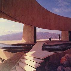 "iveseenthat: "" #JohnLautner, ""Arango Residence"", Acapulco, Mexico, 1973 """
