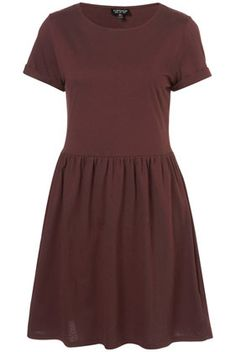Speckle Roll Sleeve Mini Dress