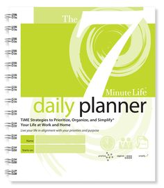The best daily planner! The 7 Minute Life Daily Planner will improve your time management and dramatically increase your daily productivity. Buy Yours Today! Daily Progress, Progress Report, Household Notebook, Time Management Tools, Life Review, Perfect Planner, Organize Your Life, Day Planners, Life Planner