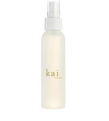 kai body glow - if you love the smell of gardenias, you'll love this. i <3 all the kai products (the perfume oil, eau de parfum, body lotion & body wash - I've tried them all)