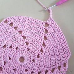 Crochet Pattern No. Crochet Beret Pattern (Toddler, Child, And Adult Sizes) Knitting Ideas Beret - Diy Crafts - DIY & Crafts Spiral Crochet, Crochet Round, Crochet Home, Filet Crochet, Crochet Motif, Crochet Doilies, Crochet Flowers, Knit Crochet, Crochet Mittens Free Pattern