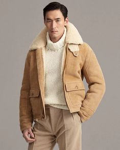 Tweed Jacket, Bomber Jacket, Turtle Neck Men, Turtleneck Outfit, Casual Outfits, Men Casual, Monochrome Fashion, Mode Style, Men's Style