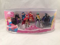 Disney Store Sleeping Beauty Figurine Set Cake Toppers New in Box | eBay