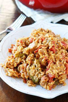 Cajun Chicken and RiceDelish