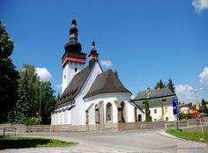 Slovakia, Handlová - Church