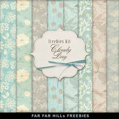 New Freebies Background Kit - Сloudy Day (Far Far Hill)