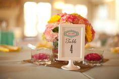 Pink, Aqua & Yellow Wedding By Flaire Weddings