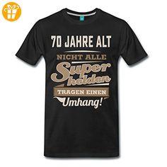 Geburtstag 70 Jahre Superheld RAHMENLOS® Männer Premium T-Shirt von Spreadshirt®, 4XL, Schwarz - Shirts zum 70 geburtstag (*Partner-Link)