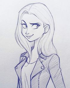 Cameronmarkart Art Design Illustration Drawing Girl Sketch Pin On Art How To Draw A Pretty Girl Cartoon Step By Step Girl Drawing Sketches, Cartoon Girl Drawing, Girl Sketch, Cool Drawings, Drawing Ideas, Drawing Faces, Drawing Art, Drawing Girls, Girl Cartoon