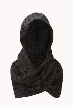 Fireside Hooded Scarf | FOREVER21 - 1000129020