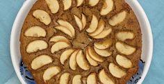 (receta adaptada de Smitten Kitchen - Deb Perelman, o más precisamente, de su suegra rusa). Ingredientes: - cinco manzanas verdes - tres huevos - una taza de harina integral (de arroz queda excelente...
