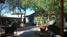 Bergie's Coffee Roast in Gilbert, AZ Places To Eat, Great Places, Outdoor Seating, Outdoor Decor, Coffee Roasting, Hot Chocolate, Arizona, Patio, Flagstaff Arizona