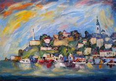 Пейзажи Герцеговины в работах хорватского художника (19 работ)
