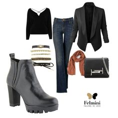 Outfit of the day | Casual Chic Look for your work!  FELMINI <3 Winter 2017  #felminifallwinter201617 #felmini #felminiboots #casualchic #newcollection #outfitoftheday #fw #news #boots #Alice9063
