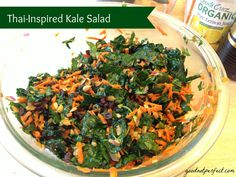 This is a great way to get your kale. Minus the soy. Walnuts are good in it instead of seeds, but more expensive.