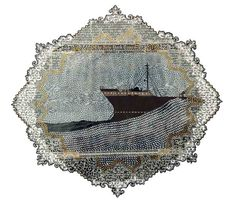 Myriam Dion's Papercuts.Artist Myriam Dion uses newspaper to...