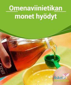 Omenaviinietikan monet hyödyt Tässä artikkelissa keskitymme #omenaviinietikan ominaisuuksiin ja siihen, miten sitä voi käyttää #monipuolisesti monien eri vaivojen hoitoon. #Luontaishoidot Asthma, Diabetes, Monet, Hot Sauce Bottles, Apple Cider, Herbalism, Alcoholic Drinks, Juice, Food And Drink