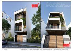 Quên đi những ngôi nhà 3 tầng 500tr trên mạng, trờ về với thực tế một ngôi nhà 3 tầng 5x20m - chi phí xây dựng và đầy đủ nội thất 1,5 tỷ. Thiết kế và thi công bởi Milimet Vuông Street House, Home Fashion, Stairs, Mansions, House Styles, Facebook, Home Decor, Ideas, Small Flats