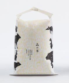 お米のパッケージデザインが素敵!|パッケージ・広告デザインをつくる女性デザイナー 大阪