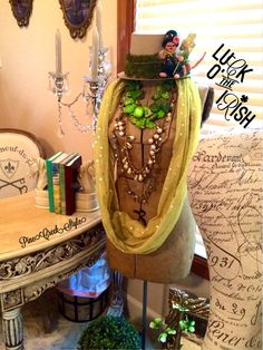 My Irish Lassie is ready for St. Patty's Day...find her posted at The CattleQueen aka BossLady & Pinterest under PineCreekStyle....