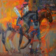 The Rose In The Arena..by Lesley Humphrey. Highly recommend her web site for lessons and inspiration like no other on the internet. Honest.