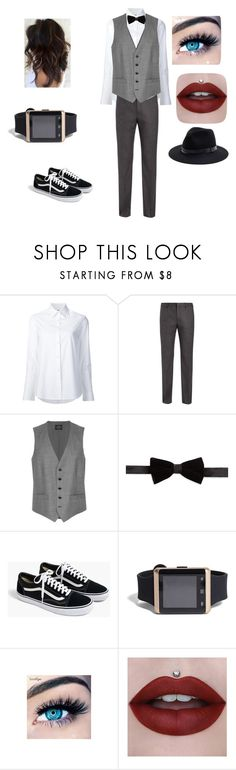 """Gender fluid style #3"" by create-clothes-genderfluid ❤ liked on Polyvore featuring Misha Nonoo, Joseph, United Arrows, Tallia Orange, J.Crew, 21 Men, MINX and Sole Society"