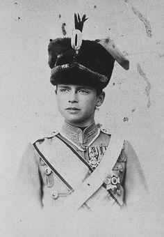 Charles-Édouard de Saxe-Cobourg et Gotha (1884-1954) fils de la princesse Helena de Waldeck-Pyrmont et du prince Léopold d'Albany