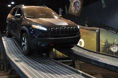 2014 Jeep Cherokee at the Chicago Auto Show Chrysler Dodge Jeep, Jeep Dodge, Jeep 2014, Jeep Brand, Chicago Auto Show, Jeep Suv, Exhibition Booth Design, Auto Service