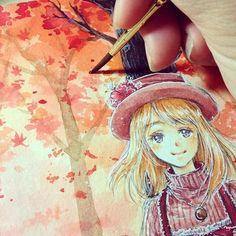 """Résultat de recherche d'images pour """"watercolor anime art"""""""
