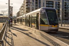 Luas Tram At The Point Depot