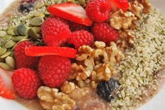 This is a lower alkaline breakfast that would be an easy transition from oatmeal every morning.