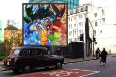 Pokemon Omega Ruby, Car, Poster, Painting, Sapphire, Automobile, Painting Art, Paintings, Painted Canvas