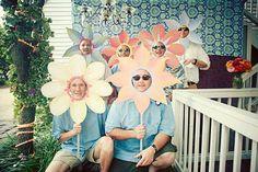 Des têtes de fleur !
