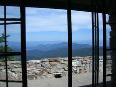 Mt. Spokane Vista House in Spokane Washington