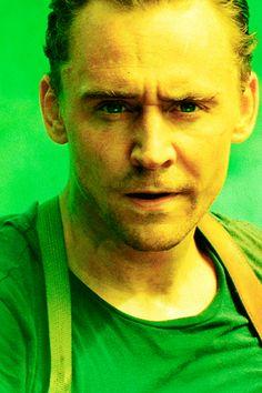 Just Tom Hiddleston — Gas Mask Samurai