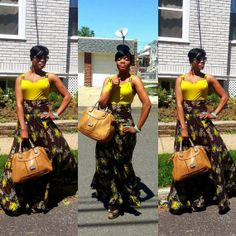 Ngomi Skirt by THEAFRICANSHOP on Etsy, £40.00