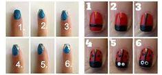Image result for easy nails art