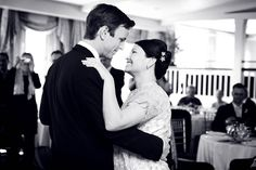 Black and White Photo | BW | Bride and Groom - romantic dance | Westport Connecticut Wedding | Simple Wedding Style | Wedding Photography packages priced from $850 and Up | www.AnnasWeddings.com