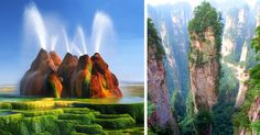 20 Lugares increíbles de la Tierra que parecen de otro planeta | Bored Panda