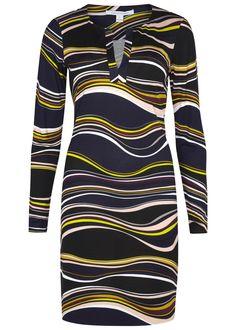 Diane von Furstenberg multicoloured silk jersey dress Printed Slips on 100% silk