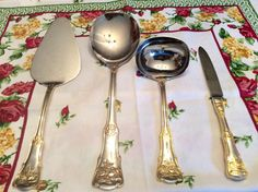 Royal Albert Old Country Roses 4 Piece Hostess by TheDrippingTap Gold Flatware, China Patterns, My Tea, Royal Doulton, Royal Albert, Tea Time, Boards, Roses, Country