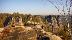 Rock town at Bastei - Saxon Switzerland