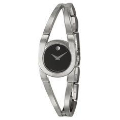 Movado Women's 'Amorosa' Stainless Steel Swiss Quartz Watch - Overstock Shopping - Big Discounts on Movado Movado Women's Watches