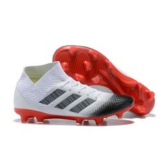 low priced 15671 ecffd Retail Adidas Nemeziz FG Football Boots - WhiteBlackRed IE save all the  sales, all in one place.